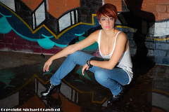 nikon D40 jpg (macphotography2013) Tags: girl model australian young jeans singlet nikond40