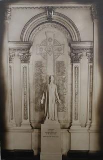 Photograph of the First World War memorial, Osgoode Hall