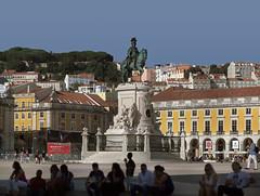 Lisboa (Pedro Moura Pinheiro) Tags: panorama statue lisboa lisbon 300mm giga autopano pedromourapinheiro 5dmk2
