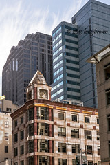 Time Two Ways II (katejbrown photography) Tags: sanfrancisco clock buildings time streetphotography financialdistrict katejbrown