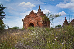 Temple in Bagan (Claire Ingram) Tags: burma myanmar bagan