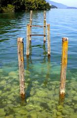 Embarcadère de l'Abbaye de Hautecombe sur le lac duBourget (anatoliv73) Tags: lake france alps les alpes lac savoie aix bains bourget abbaye hautecombe