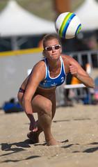 P8301944 (roel.ubels) Tags: beach sport scheveningen beachvolleyball volleyball thehague volleybal nk beachvolleybal 2013 kwalificatie nevobo