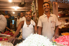 Dadar Flower Market, Smiling Vendors - Mumbai, India (uncorneredmarket) Tags: people india man maharashtra mumbai vendors indianman dadarflowermarket mumbaipeople dadarmarket