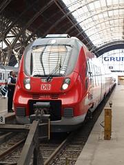 Talent 2 op station Leipzig Hbf als Regionalbahn naar Dresden - 23-07-2013 (Mat'97) Tags: 2 dresden zug db leipzig talent bahn hbf trein deutsche 616 442 saxonia 23072013