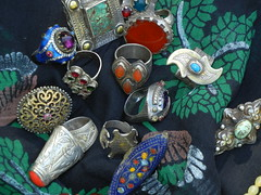 Vintage and new rings