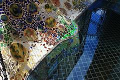 Barcelone Casa Batll - Arrire cour (CGilles7) Tags: barcelona spain artnouveau espagne casabatllo barcelone gilles7