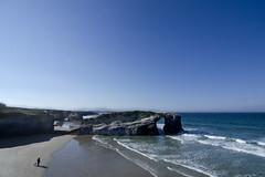 Playa de las catedrales (pedritop (www.ppedreira.com)) Tags: playa paisaje lugo catedrales ribadeo barreiros playadelascatedrales 2013 d7000