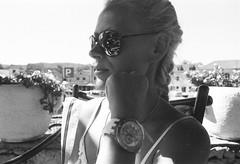 Scan-131008-0022 (andrey.mindryukov) Tags: portrait bw woman girl yacht croatia olympus om ilford zuiko