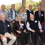 "<b>1953 #4</b><br/> Front Row: Bert Reese, Ruby (Totman) Hermeier, Gene Hermeier, Donna (Skurat) Ellefson.  Back Row: Don Bungum, Paul Thompson , Nadyne (Reque) Reardon, Duane Erickson, Ralph Ellefson. <a href=""http://farm3.static.flickr.com/2874/10422581193_c1f479edef_o.jpg"" title=""High res"">∝</a>"