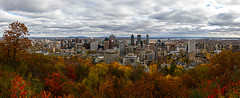 From The Belvedere (-Astin-) Tags: panorama nature clouds landscape landscapes montreal canon7d sigma1835f18