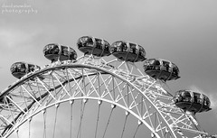 Room At The Top (Wipeout Dave) Tags: blackandwhite london wheel londoneye capsule southbank edf