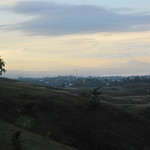 view from the peace memorial park Honiara Oct 2013