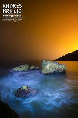 Playa de La Caleta - Maro - Nerja (Nocturna)