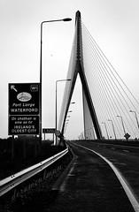 The Cat Flap (dorameulman) Tags: road bridge kilkenny ireland blackandwhite bw architecture 1 waterford catflap n25waterfordbypass dorameulman