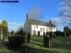 Livingston Kirk (calumsmithphotography) Tags: winter church cemetery graveyard scotland wideangle restoration february newtown 18thcentury livingston westlothian harling canonphotography 2013 calumsmithphotography livingstonkirk harledchurch
