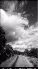Zeus, calme ta rage steuplait !! (Gislaadt Art - huge CFIDS crisis) Tags: road sky bw cloud france car weather mono ciel cielo provence nuage wetter montcaume