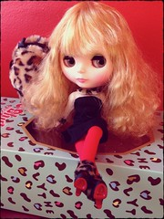 Introducing...Tiffany Gold aka Leopard Sass (showing off her Christian Louboutin's) hehehe!