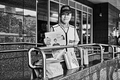 What's the Big Issue? (*kayin) Tags: camera travel blackandwhite bw classic photoshop 35mm lens dessert photography prime scenery zoom cosina taiwan sigma ps tourists bookstore filter taipei   vignette tw 45mm mrc  merrill   gongguan thebigissue   dp2 thetourist     dp2m