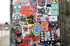 stickercombo (wojofoto) Tags: streetart amsterdam stickerart stickers combo stickercombo polderweg wojofoto klebos