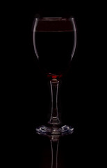 A Filled Glass. (Yvette-) Tags: wine wineglass nikond5100