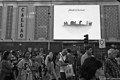Madrid (AvideCai) Tags: madrid calle gente bn