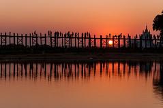 Myanmar- (@lain G) Tags: ngc silhouettes pont myanmar asie birmanie pontenteck
