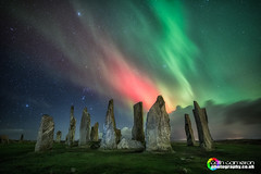 Dancing Over Stones (Colin Cameron ~ Photography ~) Tags: aurora northernlights isleoflewis ccp calanais callanishstandingstones canon5dmark3 colincameronphotography potd:country=gb