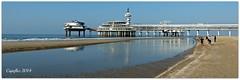 Scheveningen - De Pier (Cajaflez) Tags: sea beach pier scheveningen zee mygearandme mygearandmepremium mygearandmebronze mygearandmesilver mygearandmegold blinkagain thenetherlandsstrand infinitexposure