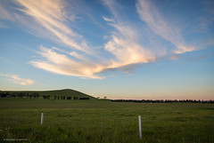 Golden clouds (michaelgreenhill) Tags: sunset clouds australia victoria bigsky beveridge