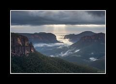 A Break in the Clouds (dtmateojr) Tags: new storm mountains rain clouds sunrise shower dawn break gloomy pentax sigma bluemountains rays 1770 k5 dtmateojr k5ii k5iis