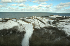 Steps Beach in the Snow - Nantucket (Massachusetts Office of Travel & Tourism) Tags: winter snow ice beach nature outdoors capecod massachusetts nantucket stepsbeach