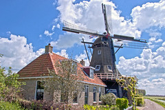 """De Onderneming"", Witmarsum, Fryslân - The Netherlands (6910) (Le Photiste) Tags: clay cornandhullingmillde ondernemingwitmarsumfryslânthenetherlands ondernemingwitmarsum witmarsumfryslânthenetherlands mills windmills fryslân fryslânthenetherlands thenetherlands sky landscape clouds wind afeastformyeyes aphotographersview autofocus artisticimpressions blinkagain beautifulcapture bestpeople'schoice creativeimpuls cazadoresdeimágenes canonflickraward digifotopro damncoolphotographers digitalcreations django'smaster friendsforever finegold fairplay greatphotographers giveme5 hairygitselite ineffable infinitexposure iqimagequality interesting inmyeyes livingwithmultiplesclerosisms lovelyflickr mastersofcreativephotography momentsinyourlife ngc nederland photographers prophoto photographicworld photomix planetearth rememberthatmoment soe simplysuperb saariysqualitypictures showcaseimages simplythebest simplybecause thebestshot thepitstopshop thelooklevel1red theredgroup vigilantphotographersunitelevel1 vividstriking wow yourbestoftoday 1850 bluesky cloudedsky nature groupecharlie lovelyshot myfriendspictures inexplore explored niceasitgets"