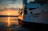 Ferry in Zadar