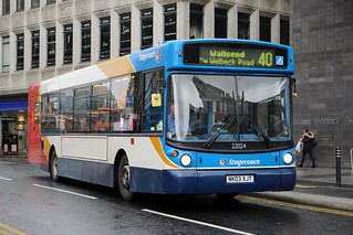 Stagecoach North East: 22024 / NK03 XJT