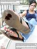 Crime Doesn't Pay (Red Neptune) Tags: giantess gts feet crush stomp sandals flipflops shrunkenman sm shrunkenmen