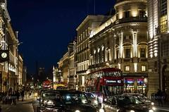 Regent Street Saint James's (Peppis) Tags: londra london nikon nikond7000 night nightimage nightlights fotonotturne fotosnocturnes notturno peppis