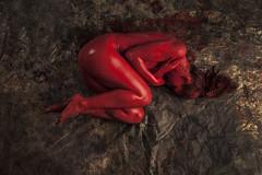 Carlotta RED (Elido Turco - Gigi) Tags: allegoriecorporee allegoriecromatiche allegorie elidoturco elidoturcocom elidorturco