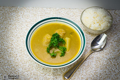 61-365  Sancocho with white rice (andanzasderuthie) Tags: sancocho whiterice dinner meal 365project food photography