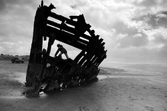 (sparth) Tags: or oregon peter iredale shipwreck blackwhite blackandwhite bw noiretblanc nb 2017 april