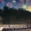 (darkWhiteYeti) Tags: surreal upsidedown upside down stars fireworks firework reflection water ripple manipulation photomanipulation walking