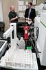 Sen. Roger Roth visits the ERIC Lab at UW-Oshkosh on March 20, 2017 (uwoshkosh) Tags: rogerroth statesenator ericlab sustainability