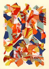 (- Amose -) Tags: amose collage paper screenprint cut