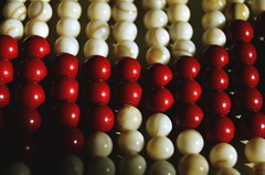 night style (Doctor Ahmed Badr) Tags: beads necklace fashion red style minimalism macro closeup nikond3200