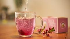 cup of tea (Caropaulus) Tags: blur bokeh minolta rokkor vintage lens alpha7 tea herbaltea water glass mug pink