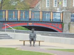Captain Mainwaring Thetford (stephengaskin) Tags: thetford littleouse river captainmainwaring dadsarmy