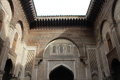 Attarin Medersa I (Sheida Koufigar) Tags: travel africa morocco marakesh fes casablanca atlas mountain atlasmountains islamic architecture islamicartchitecture attarin medresa attarinmedresa