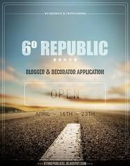 6º Republic Event: Blogger and Decorator Application (Mikaela Carpaccio - 6º Republic Event) Tags: