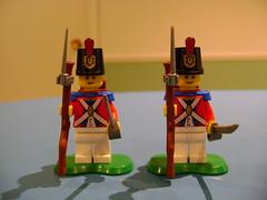 Lego imperial guards (tekmoc17) Tags: lego imperial guard bayonet brickarms
