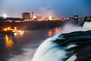 Niagarafalls (Tech-Nic) Tags: niagara falls wasserfall nacht bulb long term usa canada colors nightshot available light restlicht niagarafalls niagarafälle nightlight river stream flus wasserfälle technic